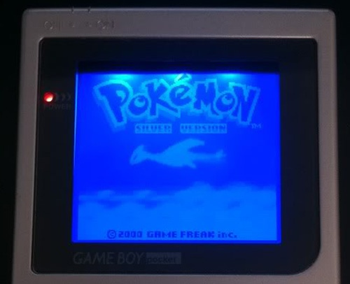 Game Boy Backlight Blue Mod